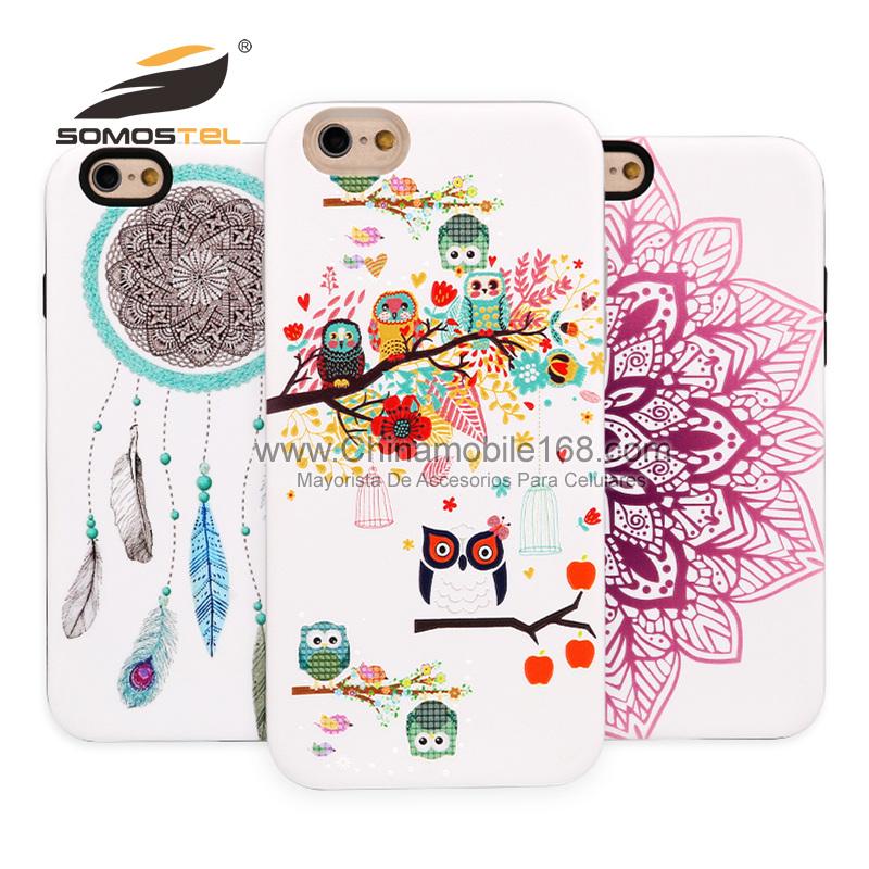 4b592c91ba6 Nuevo diseño Fundas 2 En 1 Con Dibujos Relives Con Diseno Tortugas para  iphone 6 6s