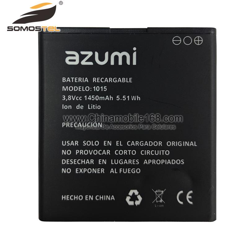 battery replacement mobile phone battery azumi  mah internal batteries battery somostel