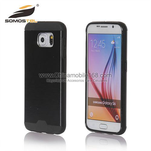 36a867042b0 fundas para celulares estuche para celular para Samsung Note 3/4/n7100 Hoja  de metal TPU Caucho