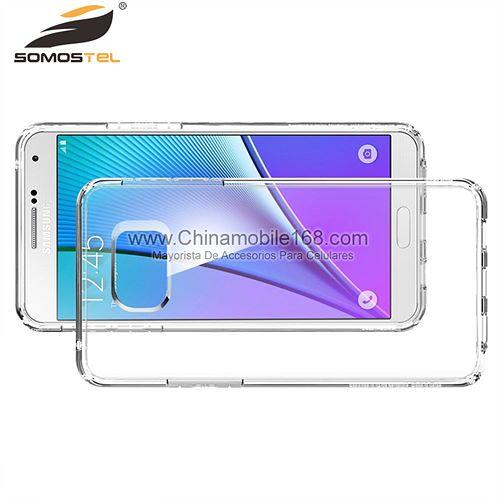 34d95da79168 Venta al por mayor del teléfono transparente para Samsung Galaxy Note 5